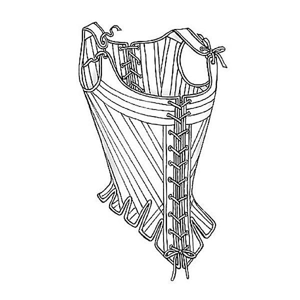 Korsett | Petticoat | Pocket Hoops, Cosplay Vault Collection 2003 ...