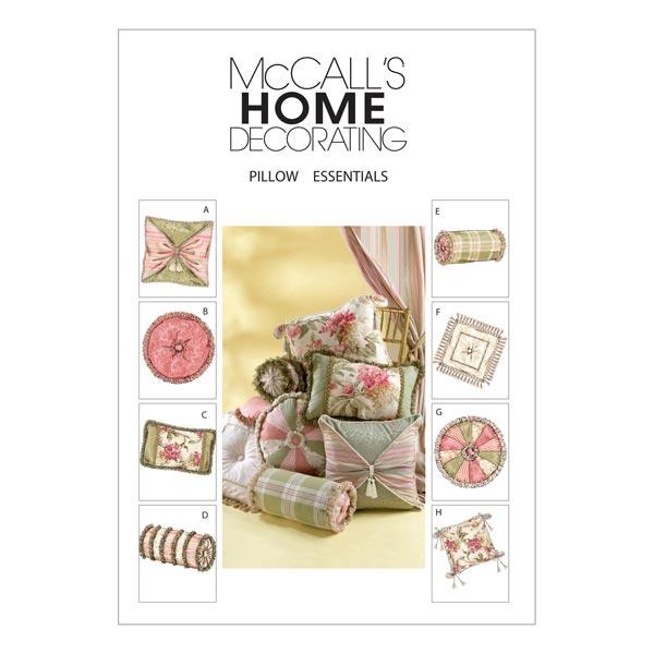 Schnittmuster für Kissenbezüge von McCall'S