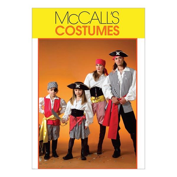 Piratenkostüme für Kinder, McCalls 4952 | 104 - 134 - Schnittmuster ...