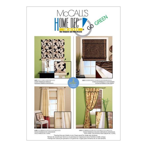 Schnittvorlagen für Vorhänge von McCall'S