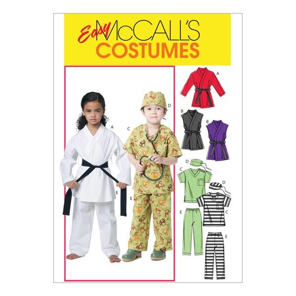 Kinderkarnevalskostüme von McCall'S