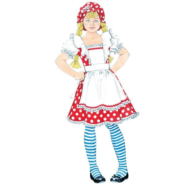 Märchen-Kostüme Für Kinder, McCalls 6187