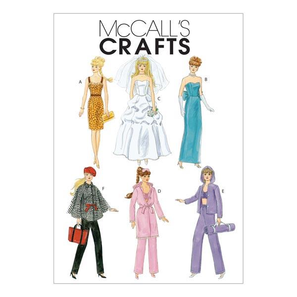 Puppenkleider für Anziehpuppen von McCall'S