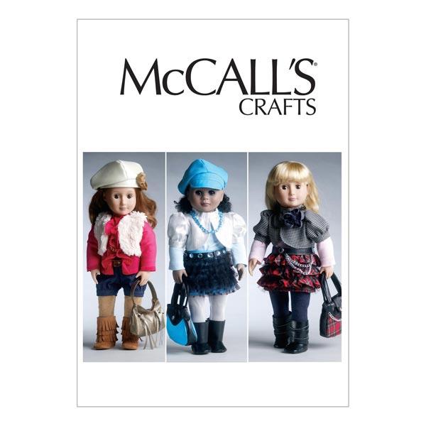 Modische Outfits für Puppen von  McCall'S