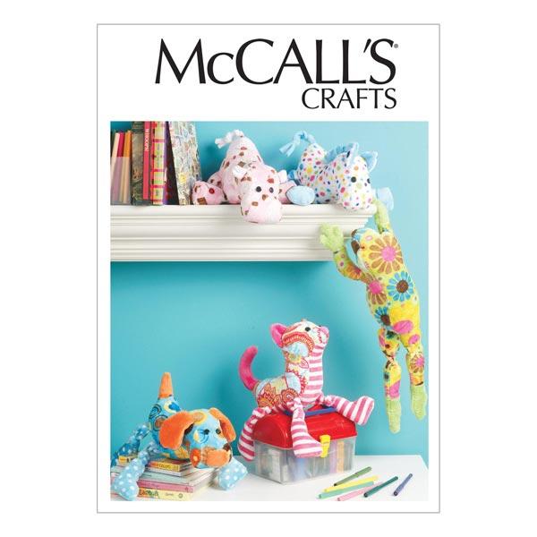 Nähvorlagen für kleine Kuscheltiere von McCall'S