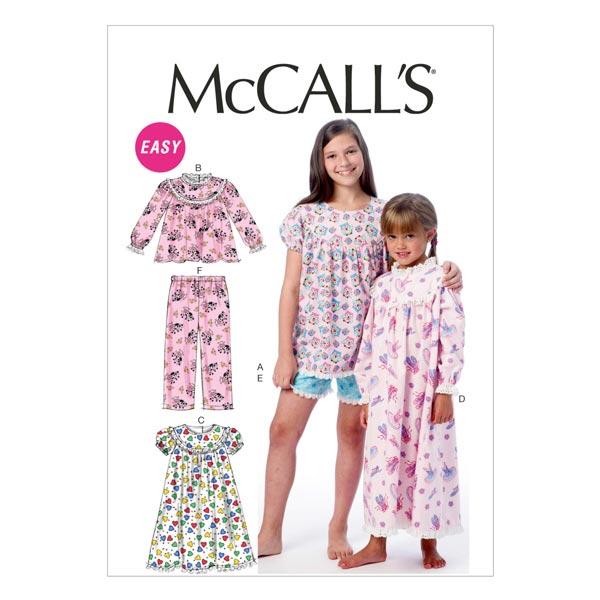 Schlafanzug, McCalls 6831 | 128-152