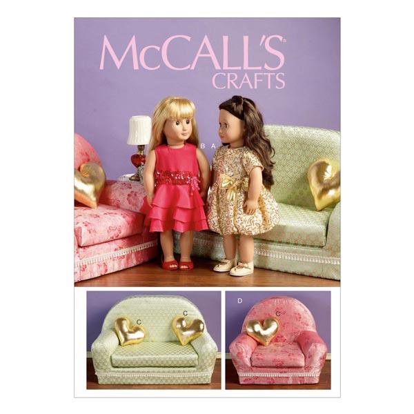 Schnittmuster für Sessel & Sofa von McCall'S
