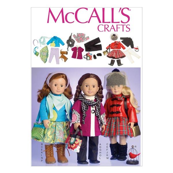 Schnittmuster für Puppenkleidchen von McCall'S