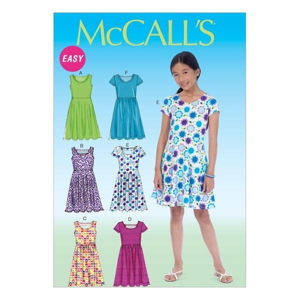 Mädchenkleider von McCall'S