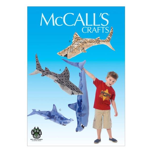 Große Kuscheltiere zum Nähen von McCall'S