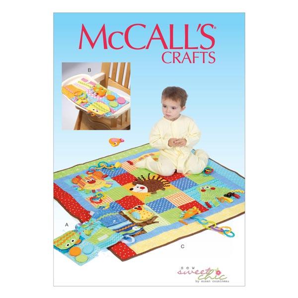 Nähanleitung für Spieldecken von McCall'S