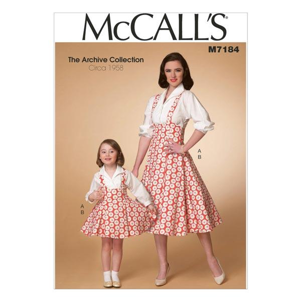 Top|Sudadera , McCalls 7184 | 104 - 134 | 34 - 48 - Patrón de corte ...