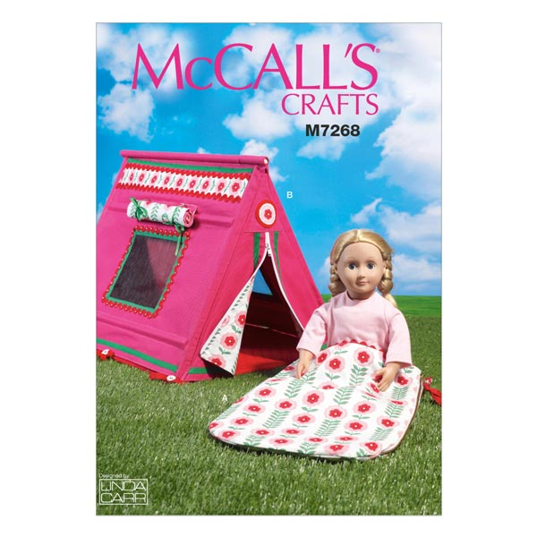 Puppenaccessoires 'Camping' von McCall'S