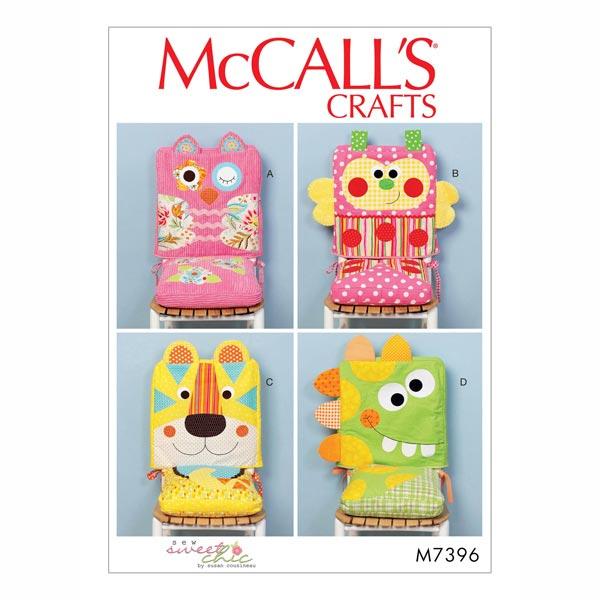 Niedliche Stuhlhussen zum Selbernähen von McCall'S