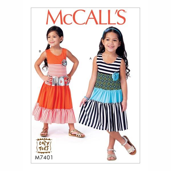 Kleid , McCalls 7401 | 122 - 134