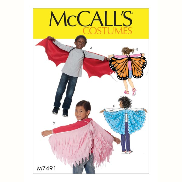 Schmetterling & Feenflügel von McCall'S