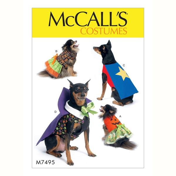 Disfraz para perro - calabaza|vampiro, McCalls - Patrones de corte ...