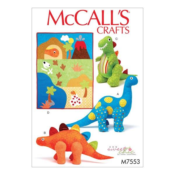 Schnittvorlagen für Kuscheltiere & Decken von McCall'S