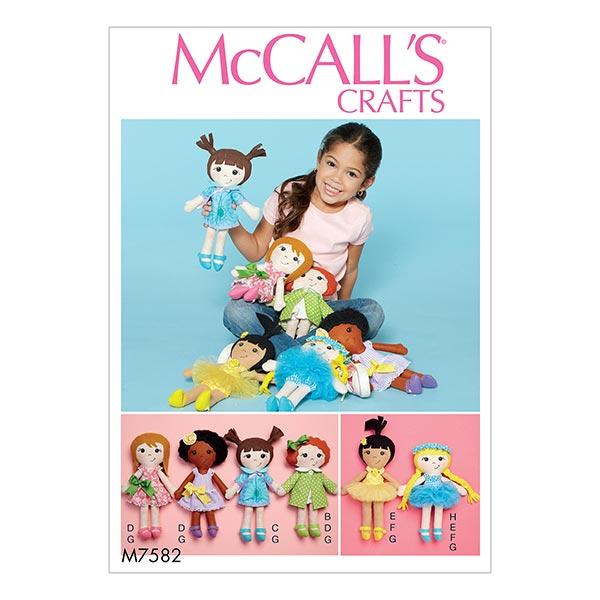 Puppen zum Selbernähen von McCall'S