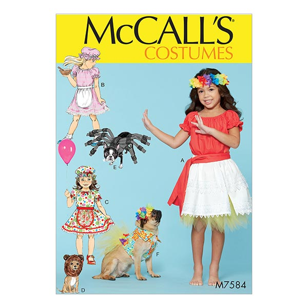 Kinderhawaii-Kostüm von McCall'S