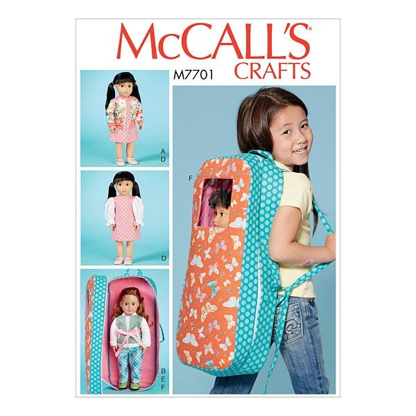 Puppenrucksack von McCall'S