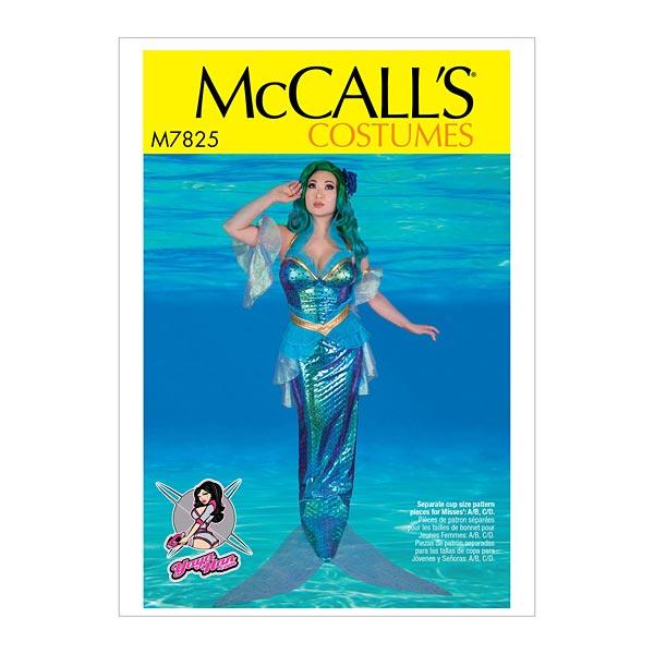 Kostüm Meerjungfrau - Yaya Han, McCalls 7825 | 40 - 48 ...