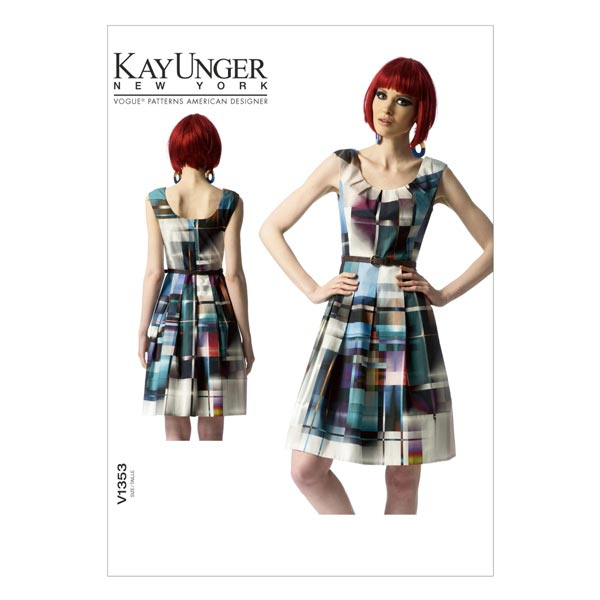 Kleid by Kay Unger, Vogue 1353 | 34 - 42