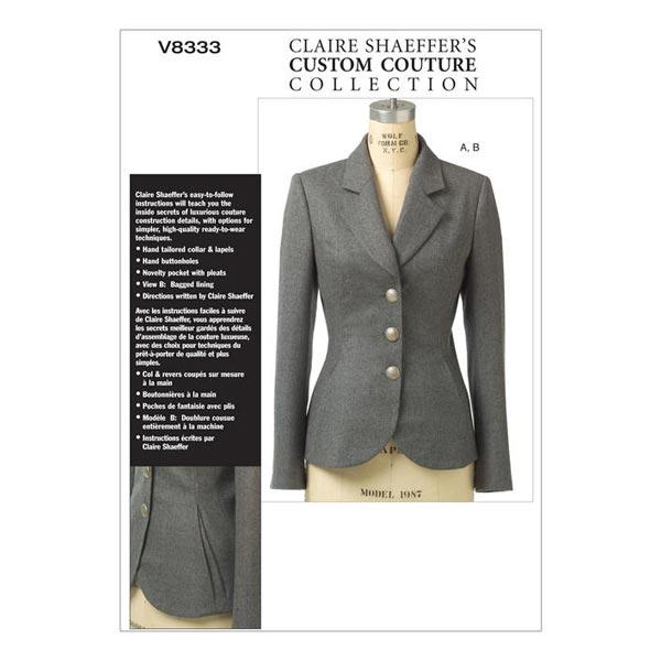 Blazer, Claire Shaeffer V8333