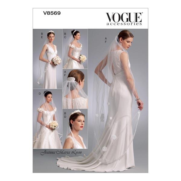 Brautschleier by Joanna Maria, Vogue 8569 | One