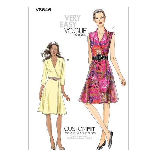 Kleid, Vogue 8646 | 32 - 38