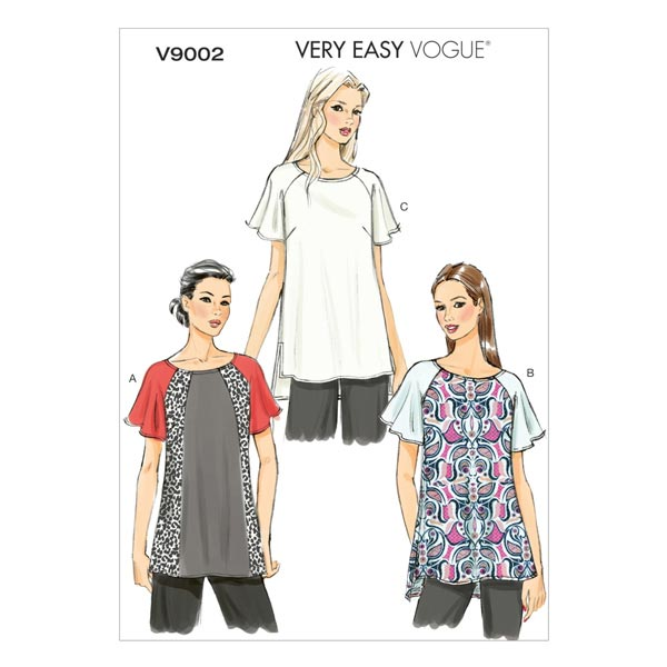 Tops, Vogue 9002 | 34 - 42