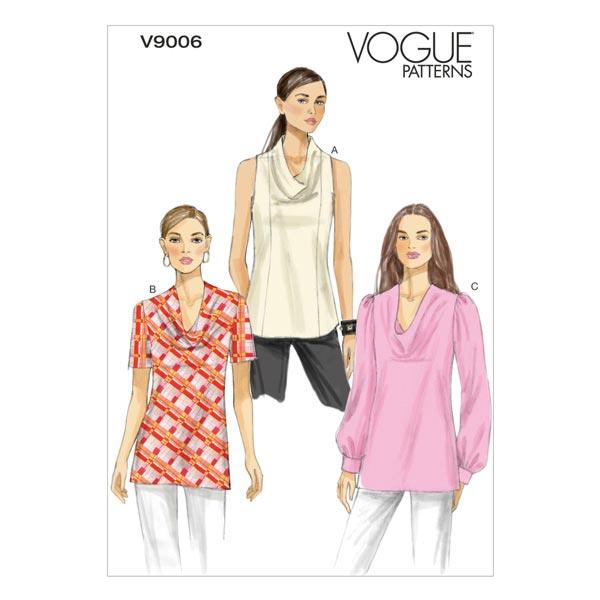 Tops, Vogue 9006 | 34 - 42