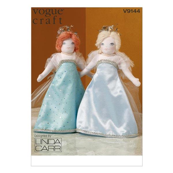 Puppe (35,5 cm) / Kleider, Vogue 9144 - Schnittmuster Puppenkleider ...