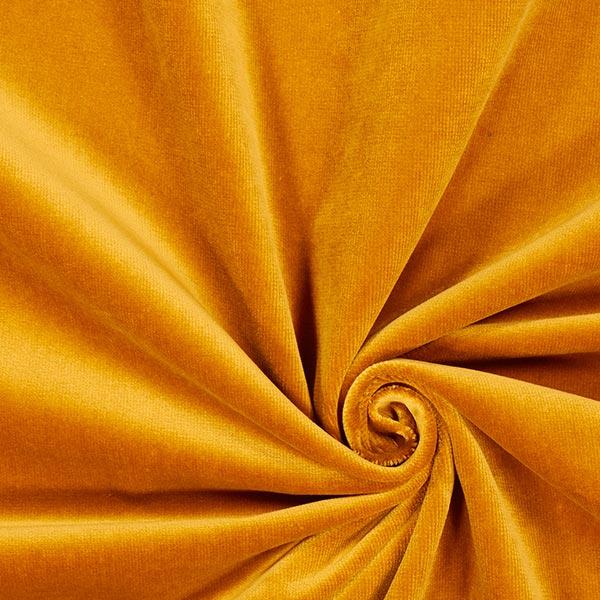 Dekostoff Samt – altgold – Muster