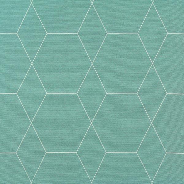 Tela para cortinas panal turquesa jacquard - Muestrario de telas para cortinas ...