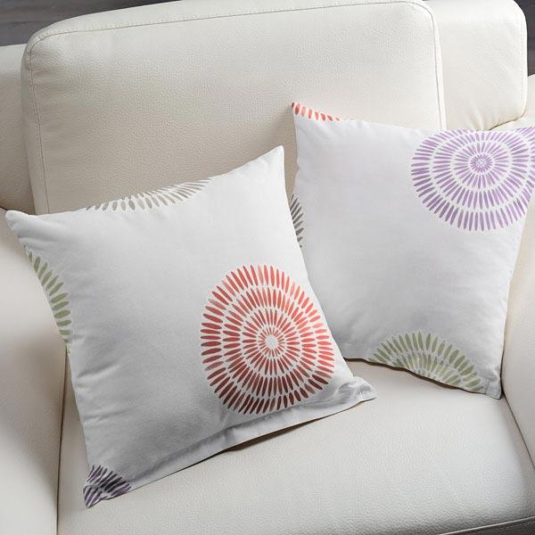 sch ner wohnen jacquardstoff daisy weiss sch ner. Black Bedroom Furniture Sets. Home Design Ideas