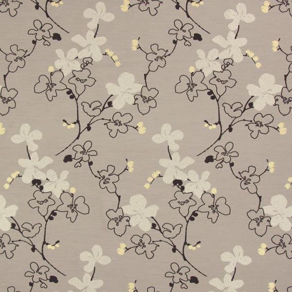 sch ner wohnen jacquardstoff bloom beige sch ner. Black Bedroom Furniture Sets. Home Design Ideas