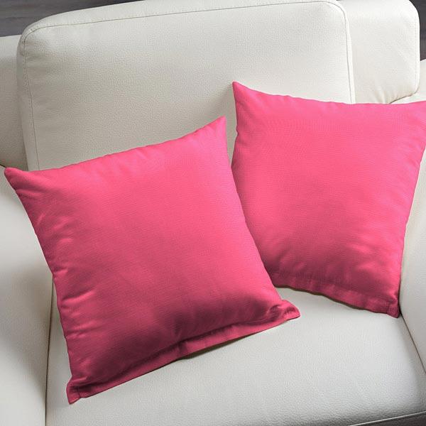 Tissu de d coration d ext rieur acrisol liso rose for Tissu pour coussin exterieur