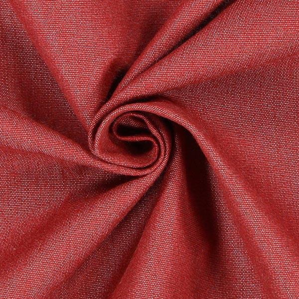 Tela decorativa para exteriores agora liso melange rojo telas outdoor - Telas para exterior ...