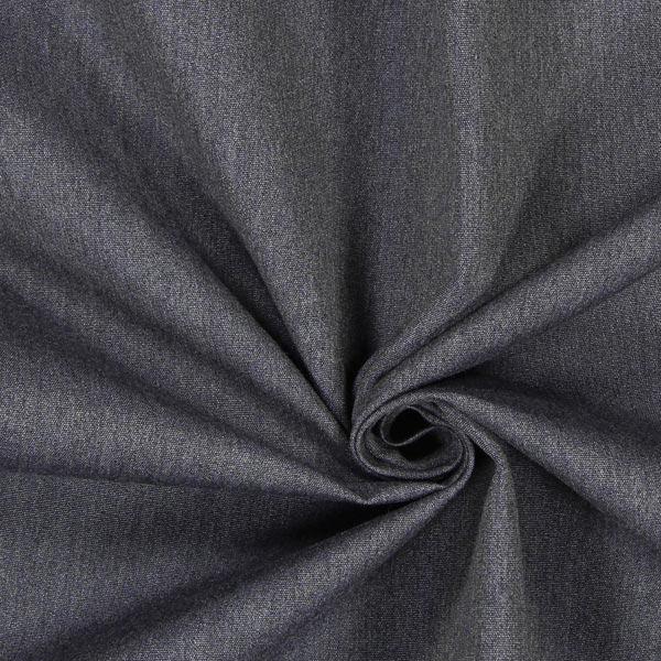 Tessuto arredo da esterni agora liso melange grigio blu for Arredo da esterni