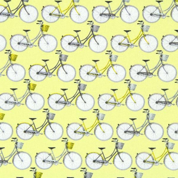 Cretonne Damenrad 2 - hellgelb - Muster