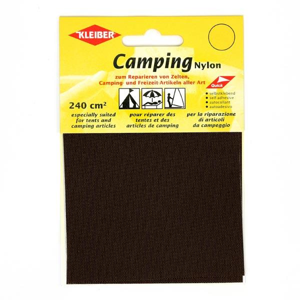 Patches Camping Nylon – braun