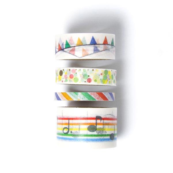 Decoracion Infantil Washi Tape ~ Pr?ctica cinta de decoraci?n autoadhesiva para fiestas infantiles