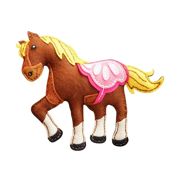 Bastelset Filztier 'Pony'