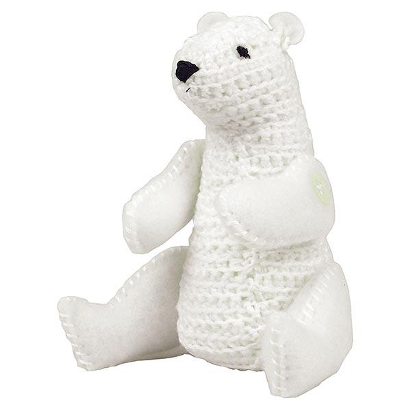 Bastelset Häkeltier 'Eisbär'