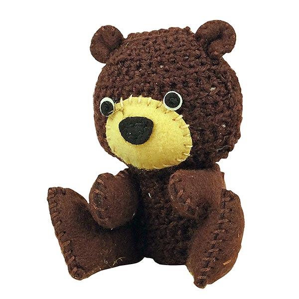 Kleiber Bastelset Häkeltier 'Kleiner Bär'