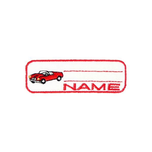 Applikation Namensschild Auto | Kleiber
