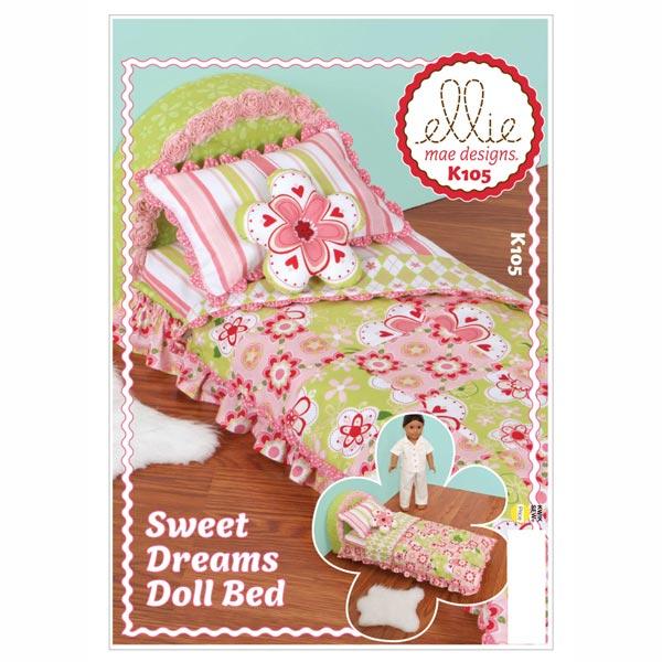 Puppenbett 'Sweet Dreams' von Kwik Sew