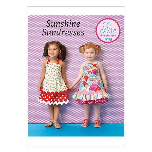 Kinderkleid, KwikSew 0175 - KwikSew-Schnittmuster - Kinder- stoffe.de
