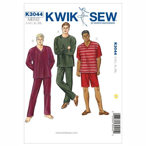 Herren-Pyjama, KwikSew 3044 | S - XXL - Schnittmuster Accessoires ...